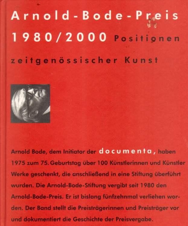 Arnold-Bode-Preis 1980 / 2000.