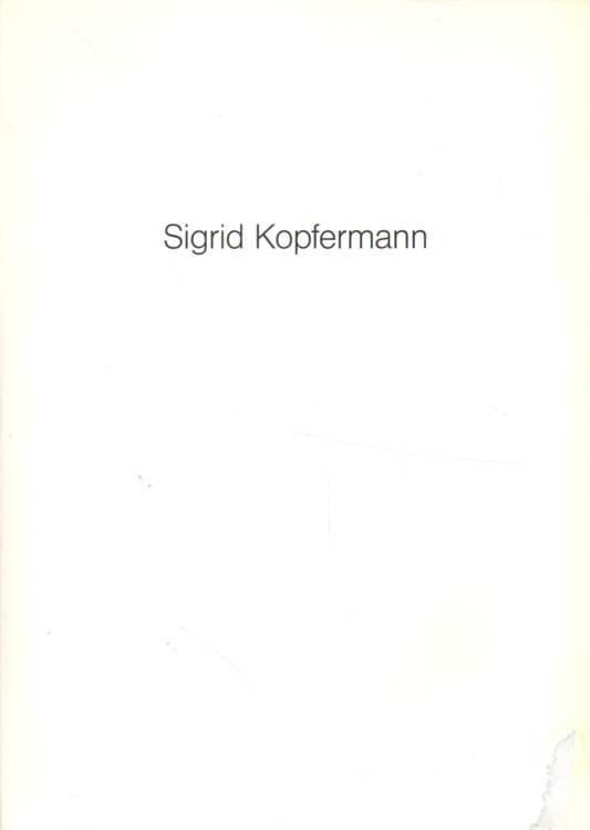 Sigrid Kopfermann.