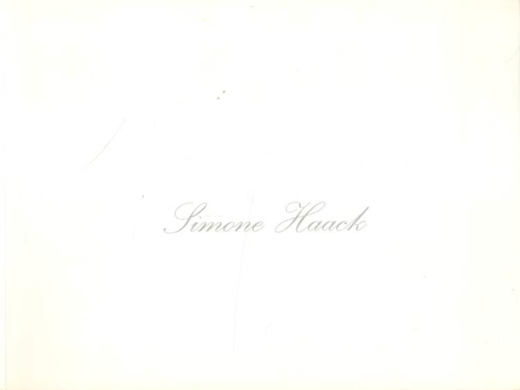 Haack, Simone: Simone Haack.