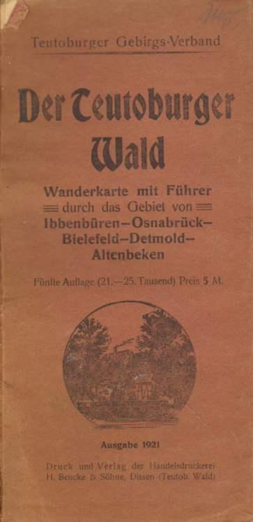 Der Teutoburger Wald. Fünfte Auflage