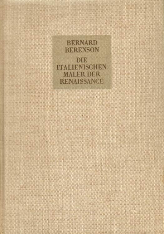 Die italienischen maler der Renaissance.