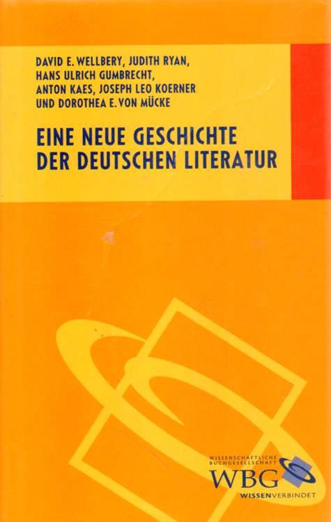 Eine neue Geschichte der deutschen Literatur.