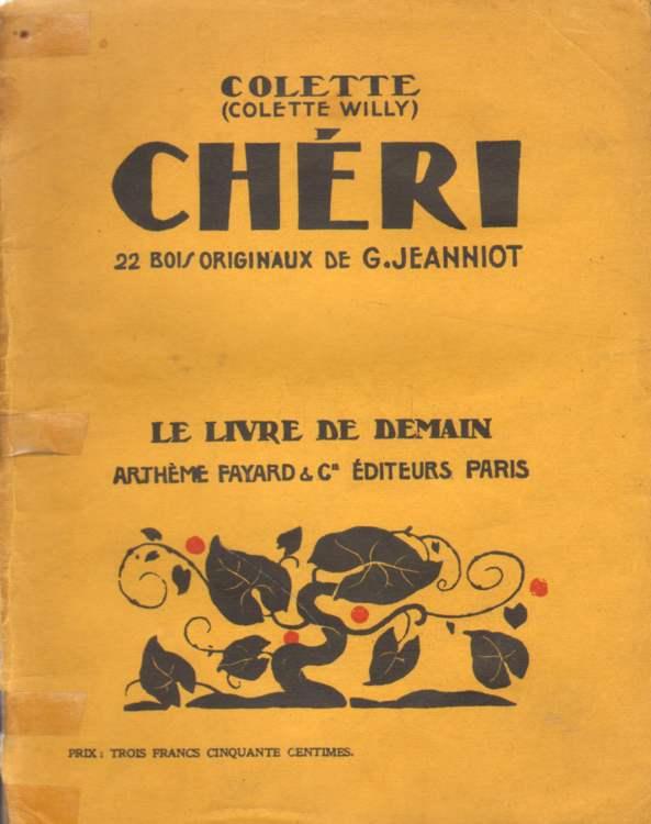 Cheri. 22 bois originaux de G. Jeannot.
