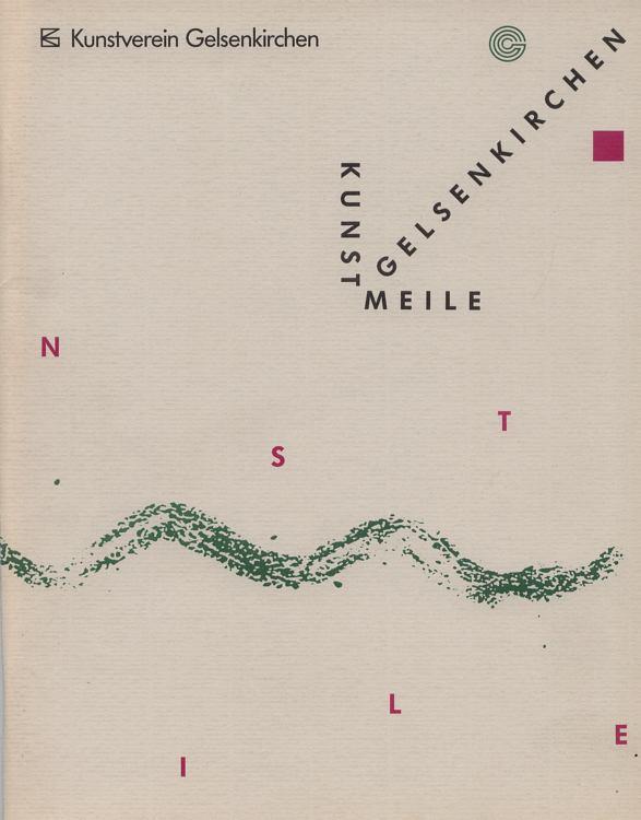 Dokumentation Kunstmeile Gelsenkirchen 1990.