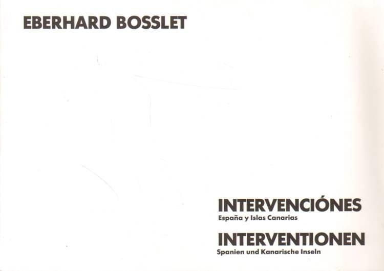 Intervenciones. Espana y Islas Canarias. Interventionen. Spanien und Kanarische Inseln.