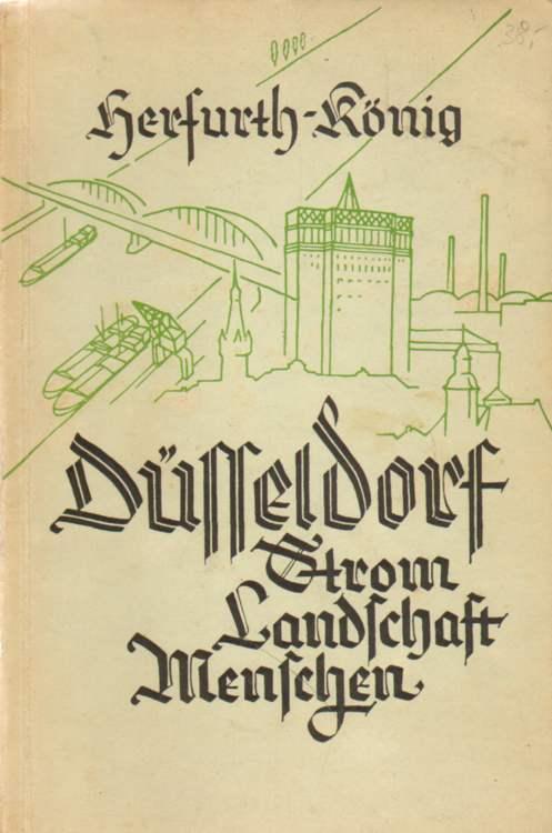 Düsseldorf. Strom - Landschaft - Menschen.