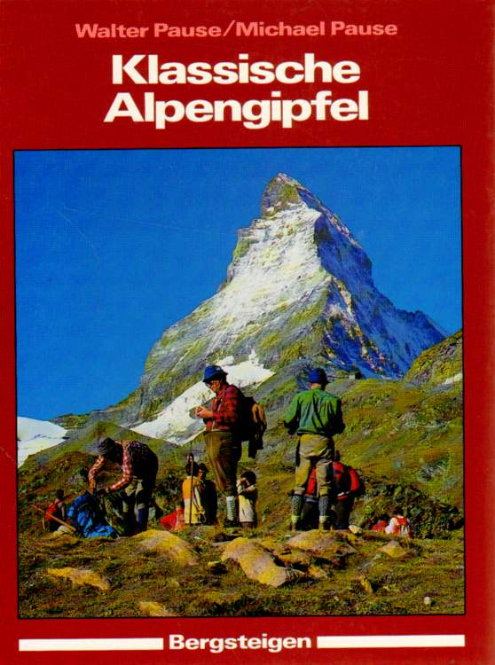 Klassische Alpengipfel.