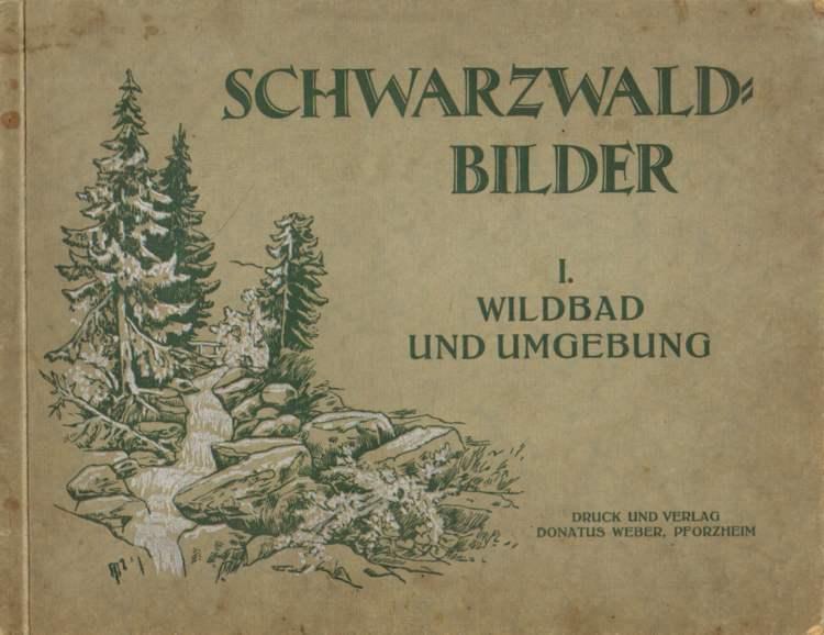Schwarzwald-Bilder. Wildbad und Umgebung.