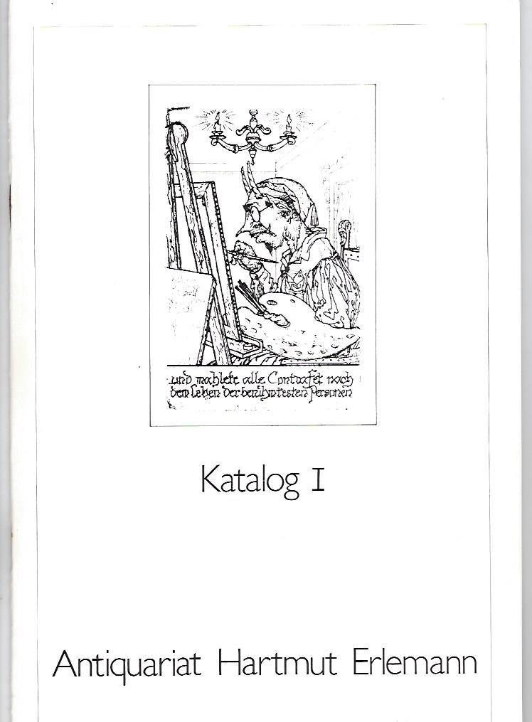 Konvolut aus 14 Katalogen: Antiquariat Hartmut Erlemann - Nr. 1, 2, 3, 4, 5, 6, 7, 9, 11, 12, 13. 14, 15, 16.