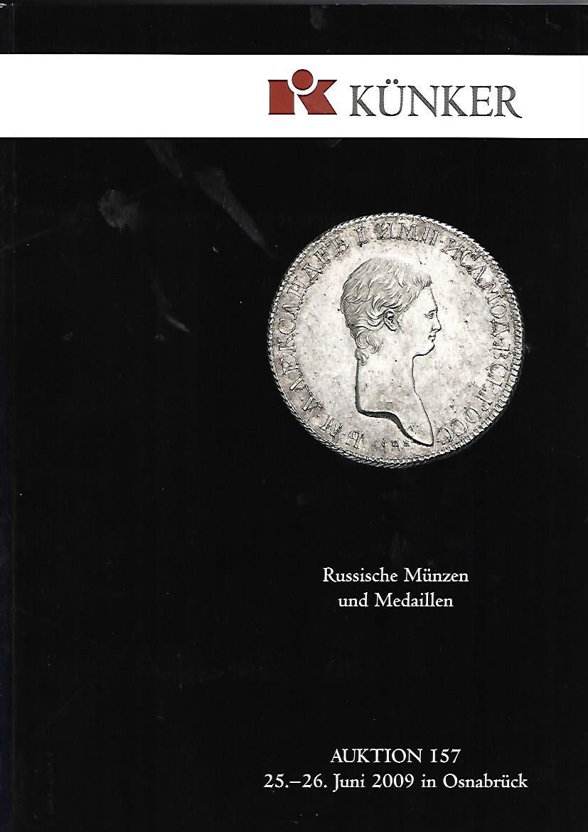 Künker, Fritz Rudolf: Künker Auktion 157. Russische Münzen und Medaillen.