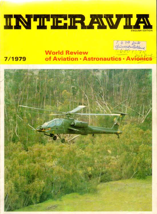 Interavia. World Review of Aviation, Astronautics, Avionics. July 1979.