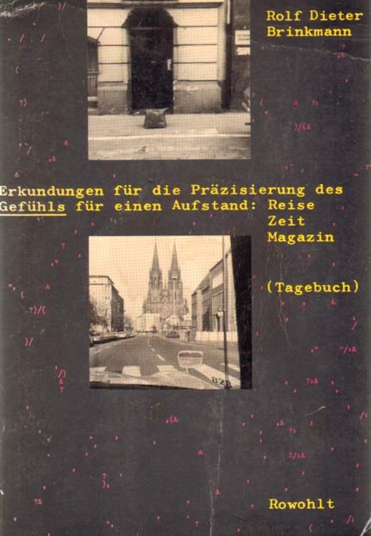 Erkundungen für die Präzisierung des Gefühls für einen Aufstand: Träume. Aufstäde / Gewalt / Morde. Reise Zeit Magazin (Tagebuch).