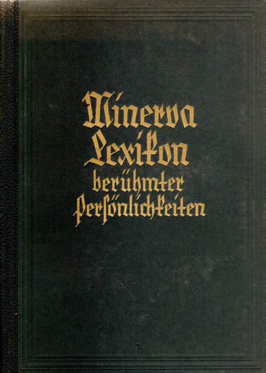 Minerva-Lexikon berühmter Persönlichkeiten.