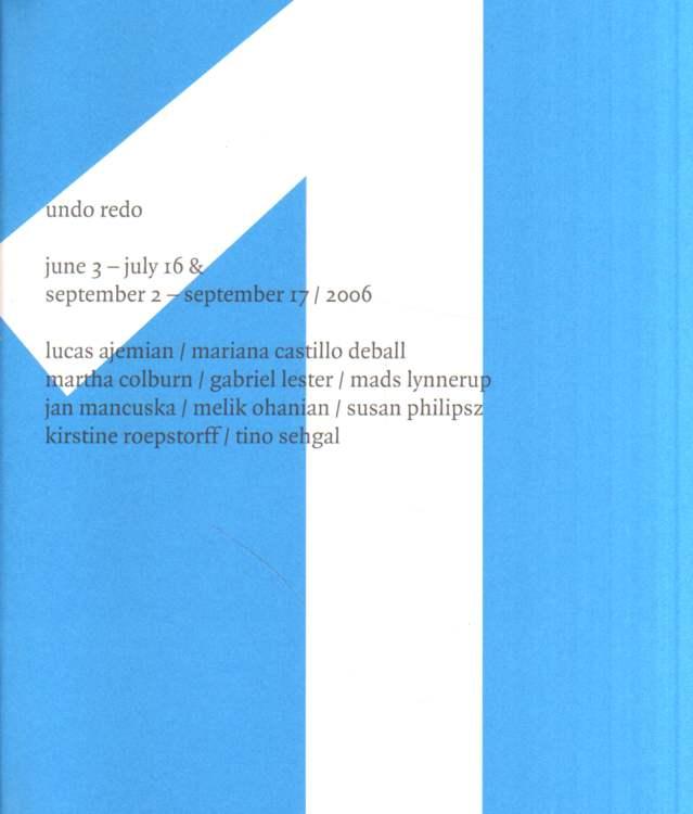 1998 - 2006 Kunsthalle Fridericianum.