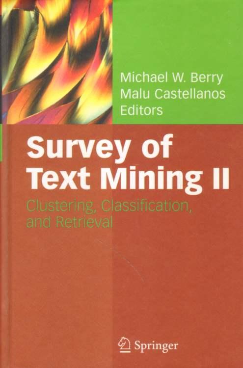 Survey of Text Mining II.