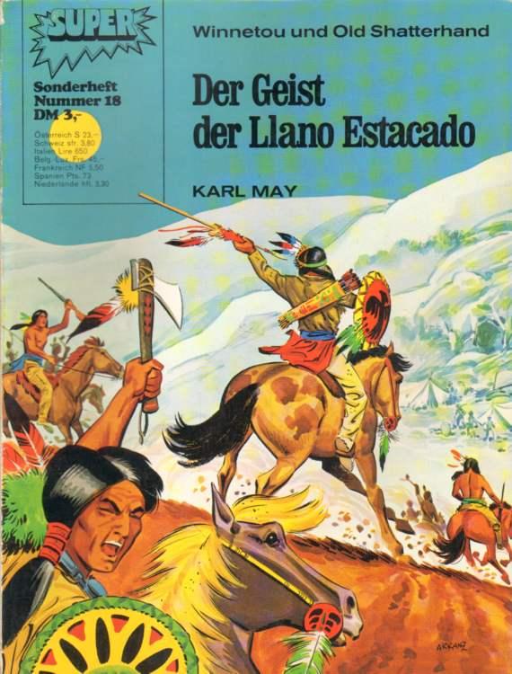 May, Karl: Der Geist des Llasno Estacado.
