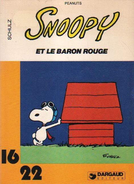 Snoopy et le baron rouge.