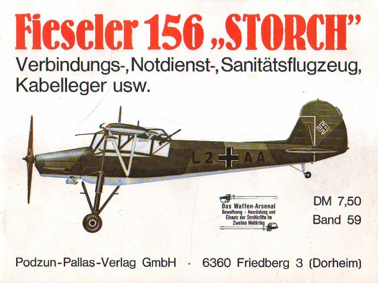 Nowarra, Heinz J.: Fieseler 156 Storch.