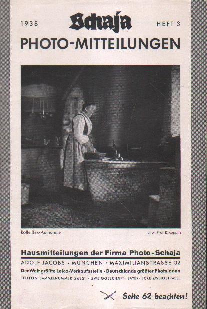 Schaja Photo-Mitteilungen.