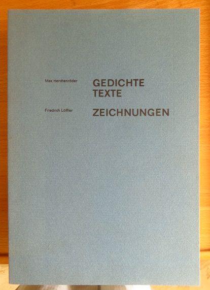 Gedichte Texte / Zeichnungen.