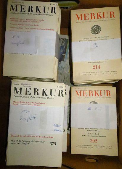 MERKUR - Deutsche Zeitschrift für europäisches Denken