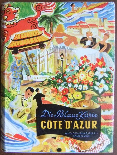 """Côte d´Azur, aus der Buchreihe """"die blaue Küste"""""""
