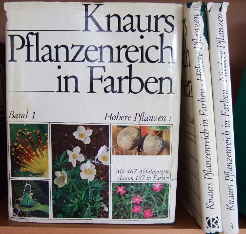 Knaurs Pflanzenreich in Farben. Bd. 1: Höhere Pflanzen I. Bd. 2: Höhere Pflanzen II. Bd. 3: Niedere Pflanzen. 3 Bde.