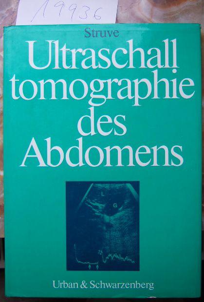 Ultraschalltomographie des Abdomens.