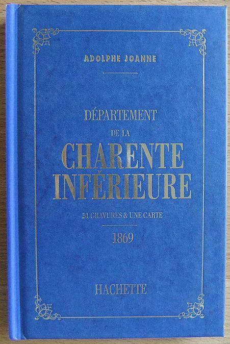 Géographie de la France Département de la Charente Inférieure  1869