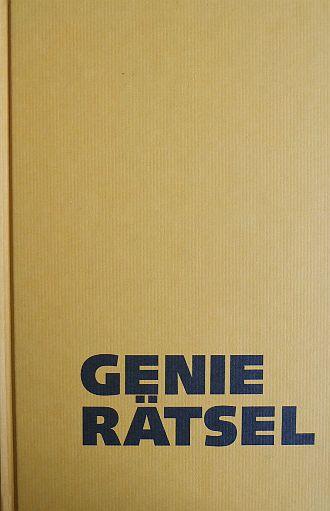 Genie-Rätsel. Abbie Salny und Marvin Grosswirth mit dem Mitgliedern von Mensa. Aus dem Amerikan. von Margot Seewi und Toto Anders 1. Aufl.