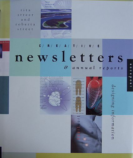 Creative Newsletter & annual reports. designing information.