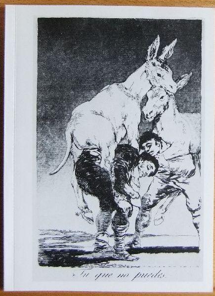 Goya Caprichos  Ausstellung im Hessischen Landesmuseum Darmstadt 2.März bis 17. April 1977