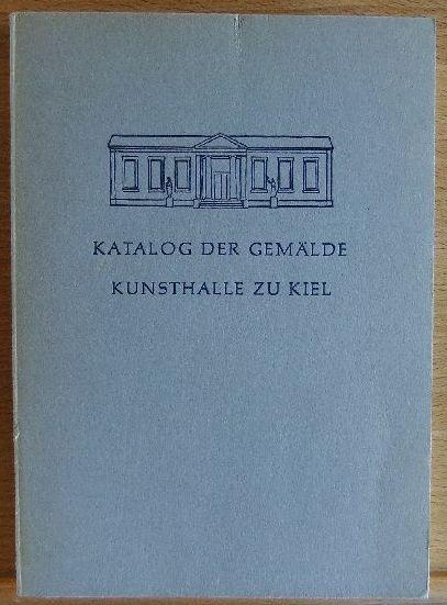 Katalog der Gemälde Kunsthalle zu Kiel
