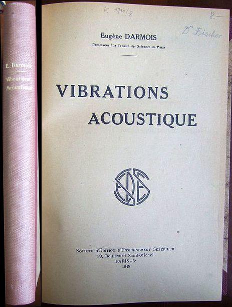 Vibrations Acoustique.