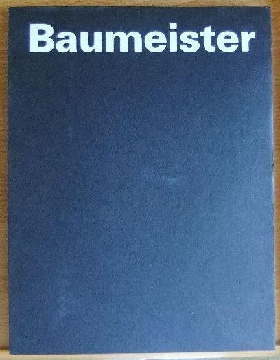 Baumeister, Willi: Willi Baumeister : 1945 - 1955 ; Württemberg. Kunstverein Stuttgart, 28. März bis 6. Mai 1979