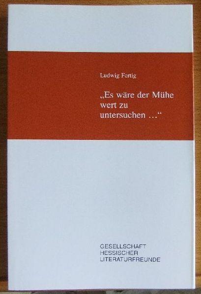 Fertig, Ludwig: