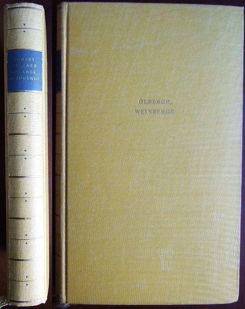 Kästner, Erhart: Ölberge, Weinberge - Ein Griechenlandbuch. Mit Federzeichnungen von Helmut Kaulbach und 1 Faltkarte. 10.-14. Tsd.