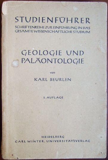 Geologie und Paläontologie. [Studienführer / 03] Studienführer : Gruppe 3., Naturwissenschaft u. Mathematik ; 16 2. Aufl.