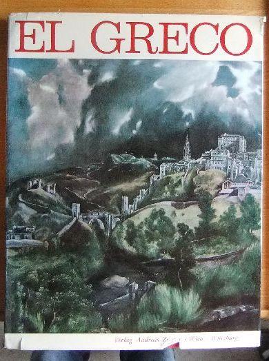 El Greco. Text v. F. J. Sanchez Canton. [Dt. Übers. u. Bearb.: v. Karl Ipser], Mythos der Farbe