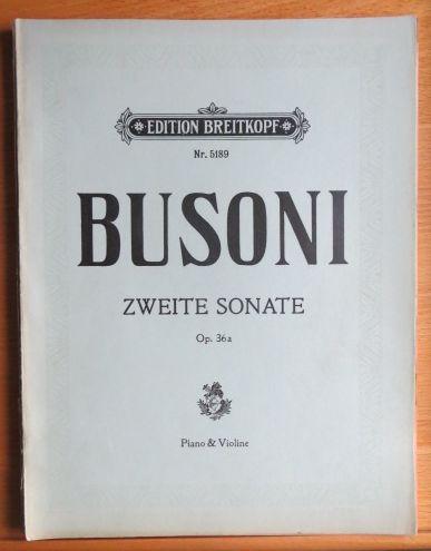 Zweite Sonate E-moll - E-minor-Mi-mineur Opus 36a, VN 5189