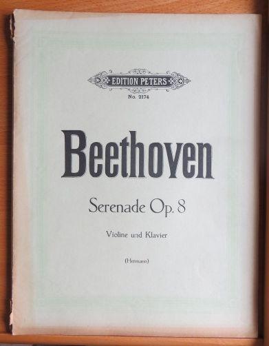 Serenade. Opus 8 in D dur. In D Major. Violin,Viola, V
