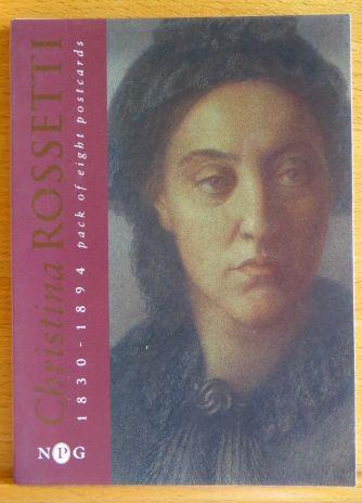Rossetti, Christina Georgina: Christina Rossetti 1830-1894 pack of eight postcards