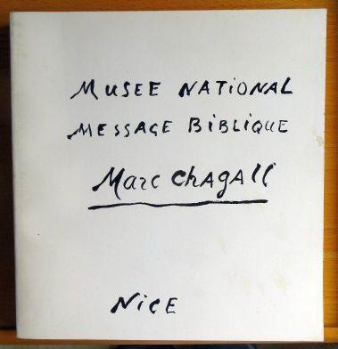 Musee National Message Biblique Marc Chagall Nice Schenkung Marc und Valentina Chagall