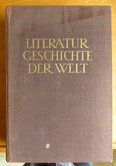 Literaturgeschichte der Welt.