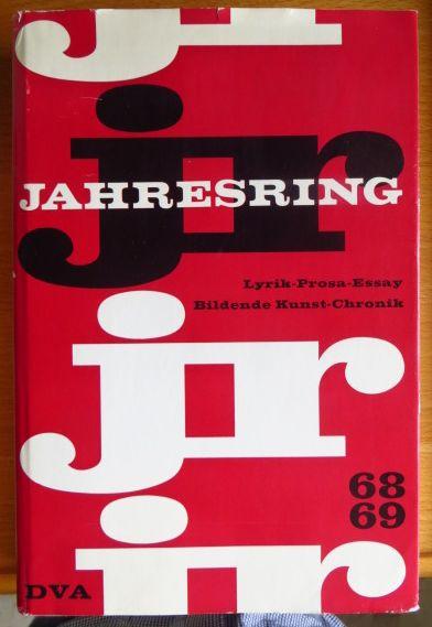 Jahresring 68 69 herausgegeben vom Kulturkreis im Bundesverband der Deutschen Industrie,