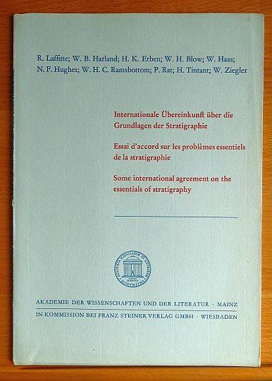 Internationale Übereinkunft über die Grundlagen der Stratigraphie = Essai d