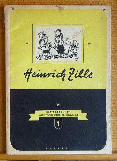 Heinrich Zille Hefte der Kunst, Großvertrieb Morgner Halle/Saale; 1