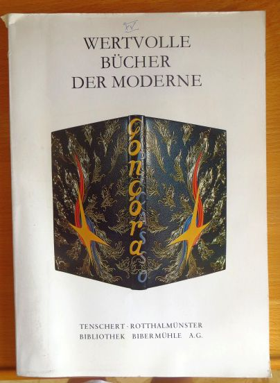 Antiquariatskataloge - Tenschert, Heribert: Wertvolle Bücher der Moderne 1895-1950. Kat. XV