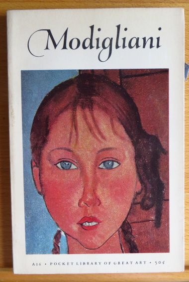 Modigliani Pocket Library of Great Art A16. First printing