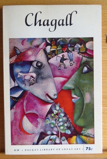 Chagall Pocket Library of Great Art A28. First printing